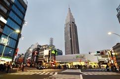 TOKIO - 23 DE NOVIEMBRE: Estación de Yoyogi Fotografía de archivo libre de regalías