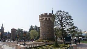 Tokio Disneyland park Obrazy Royalty Free