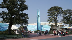 Tokio Disneyland park Obraz Stock