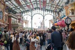 Tokio Disneyland Resort en Jap?n fotografía de archivo