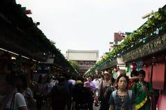 Tokio, Japón - 22 de julio de 2017 imagen de archivo