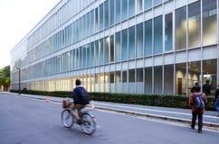 Tokio, Japón - 22 de noviembre de 2013: Estudiantes en la universidad de Tokio Imagen de archivo