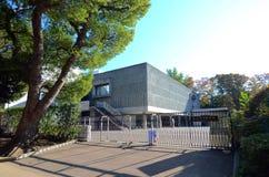 Tokio, Japón - 22 de noviembre 2013: El Museo Nacional de occidental Imágenes de archivo libres de regalías
