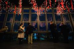 TOKIO, JAPÓN - 25 DE NOVIEMBRE: Torre de Tokio en Tokio, Japón en Novem imagen de archivo