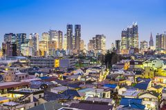 Tokio Japón en Shinjuku del oeste Fotos de archivo libres de regalías