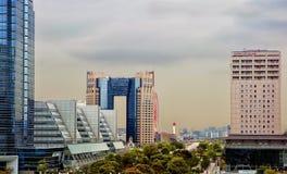 Tokio, Japón, isla de Odaiba, centro de Panasonic Club de Tokio Baycourt Foto de archivo