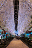 Tokio Japonia, Listopad, - 26 2013: Światła i iluminacje są de obrazy royalty free