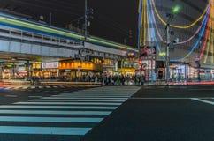 Tokio Japonia, Listopad, - 19, 2016: Ameyoko zakupy ulica wewnątrz Obrazy Stock