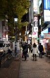 TOKIO JAPONIA, LISTOPAD, - 28: Shibuya zna jako młodości moda Fotografia Royalty Free
