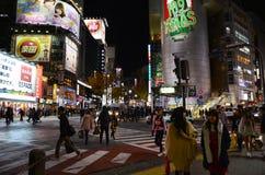 TOKIO JAPONIA, LISTOPAD, - 28: Shibuya zna jako młodości moda Obrazy Stock