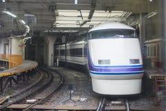 TOKIO JAPONIA, LUTY, - 23, 2016: Szybkościowa stacja kolejowa Zdjęcia Royalty Free