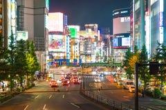 Tokio Japonia, Nov, - 18 2016: Tokio Shinjuku jest jeden Tokio bu Fotografia Stock