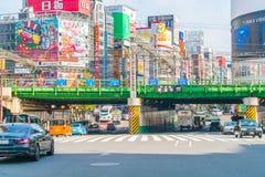 TOKIO, JAPONIA - 2016 Nov 17: Shinjuku jest jeden Tokio busine Fotografia Royalty Free