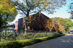 TOKIO JAPONIA, NOV, - 22: Wielkomiejski muzeum sztuki Fotografia Royalty Free