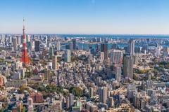 TOKIO, JAPONIA Tokio Kanto region i - 26 2015 LISTOPAD - Obraz Royalty Free