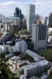 Tokio linia horyzontu Zdjęcie Stock