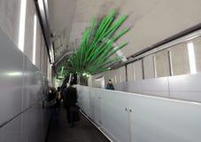 Tokio, Listopad - 25, 2013: Rzeźby dekoracja w Sekiguchi sta Obraz Stock