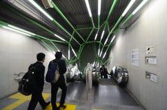 Tokio, Listopad - 25, 2013: Rzeźby dekoracja w Sekiguchi sta Fotografia Stock