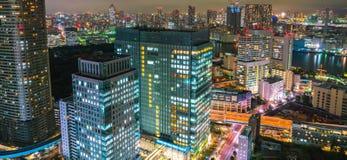 TOKIO, LISTOPAD - 26: Tokio zaświeca up linię horyzontu na LISTOPADZIE Zdjęcie Royalty Free