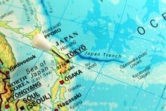 Tokio mapa Zdjęcie Royalty Free