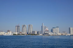 Tokio miasta drapacz chmur Obrazy Royalty Free