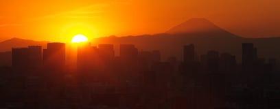 Tokio miasta widok Zdjęcie Royalty Free