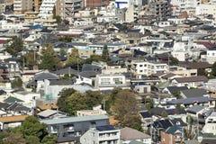 Tokio miasta widok od Bunkyo obserwacji pokładu obrazy royalty free