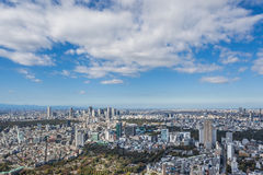 Tokio miasta widok Zdjęcia Royalty Free