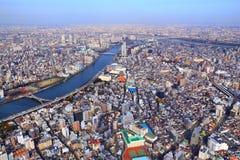 Tokio miasto, Japonia zdjęcie royalty free