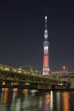 Tokio nieba drzewo Fotografia Stock