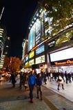 TOKIO, NOV - 21: Ludzie wizyty Akihabara robi zakupy teren na Listopadzie Zdjęcia Royalty Free