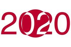 Tokio 2020 Olimpiadas Japón ilustración del vector