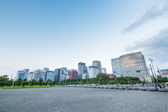 Tokio pałac Cesarski teren Obrazy Royalty Free