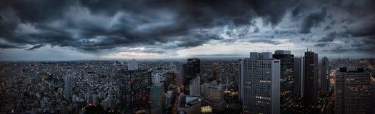 Tokio panorama zdjęcie royalty free