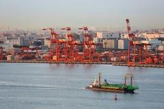 Tokio port fotografia stock