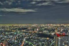 Tokio przy nocą -2 Obraz Stock
