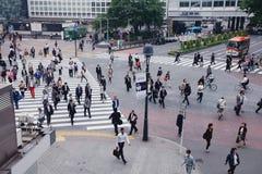 Tokio Shibuya - Zdjęcia Stock