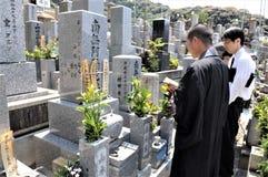 Tokio sintoizm cmentarz zdjęcia stock