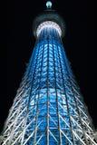 Tokio Skytree los 634m altos, es la torre libre más alta de la difusión del mundo Sumida Tokio Japón imagen de archivo