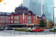 Tokio stacja w Chiyoda, Tokio, Japonia Zdjęcie Stock