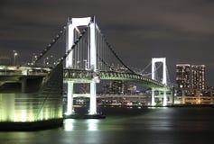 Tokio tęczy most Obraz Royalty Free