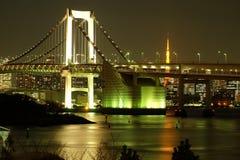 Tokio tęczy most Zdjęcia Stock