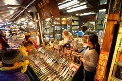 Tokio: Tsukiji owoce morza Rybi rynek fotografia royalty free