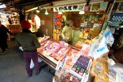 Tokio: Tsukiji rybi rynek obraz stock