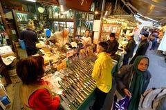 Tokio: Tsukiji rybi rynek obraz royalty free