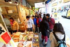 Tokio: Tsukiji rybi rynek zdjęcia royalty free
