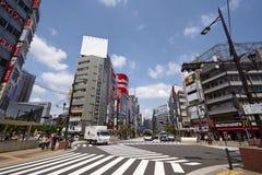 Tokio ulicy widok Zdjęcie Stock