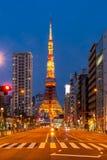 Tokio wierza zmierzch zdjęcia royalty free