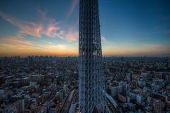 Tokio zatoki linia horyzontu Zdjęcia Stock