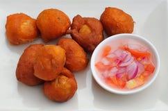 Tokneneng (huevos duros del pollo) Imagenes de archivo